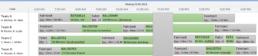Screenshot BC/NAV ERP Modul FieldService Scheduler - Ansicht Route