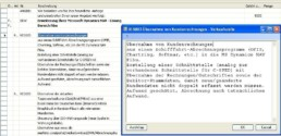 Screenshot BC/NAV ERP Modul CTE Fließtexteditor