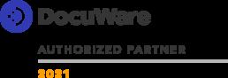 DocuWare Authorized Partner 2021 Emblem